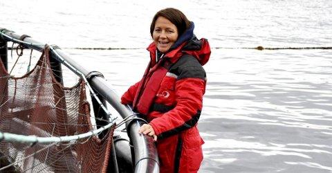Line Ellingsen i Ellingsen Seafood AS er glad for at Fiskeridirektoratet nå har gitt bedriften tillatelse til å øke produksjonen. Arkivfoto