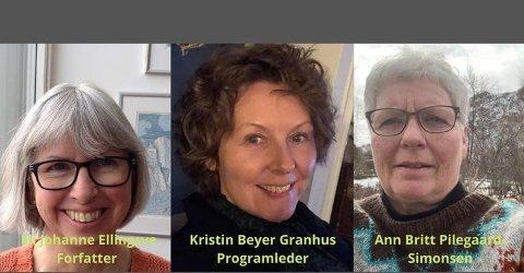 Den gode samtale mellom tre kunnskapsforvaltere på Meieriet bibliotek.