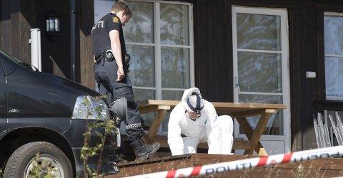 KRIPOS: Politiet i Sør-Øst politidistrikt fikk bistand av Kripos etter at de fant en død kvinne på Sørbølfjellet i på Flå. Både den avdøde kvinnen og hennes samboer som nå er siktet for drapet var bosatt i Rygge.