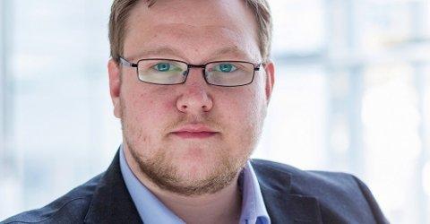 KRITISK: Høyres Erlend Svardal Bøe mener Arbeiderpartiet har forhastet seg, ved å gå inn for bru til Selnes.
