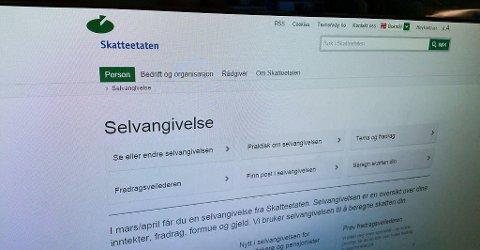 ADVARER: Like før skatteoppgjøret kommer 4. april, advarer nå Skatteetaten om svindelforsøk via e-post. Foto: Nettavisen