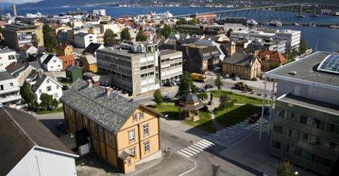 PÅ NETT: Tirsdag vedtok formannsskapet gratis internett på såkalte hotspots i Tromsø sentrum som et strakstiltak.