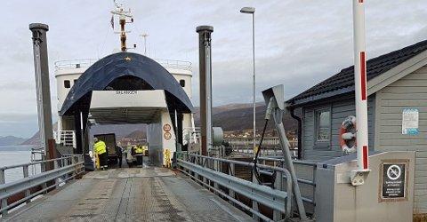 NY ORDNING: Nå er Autopass innført på alle fergesamband i Troms og Finnmark