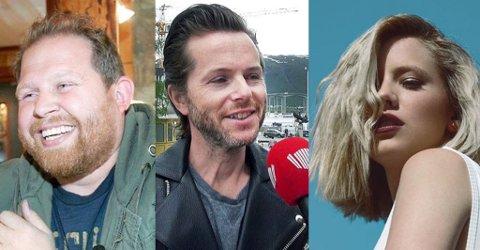 GODT ÅR: Truls Svendsen, Espen Lind og Dagny Norvoll Sandvik er blant kjendisene som har gjort det bra økonomisk i 2017.
