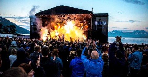 FESTIVAL: Bukta håper å arrangere festival til neste år, etter at sommerens utgave ble avlyst på grunn av koronapandemien.