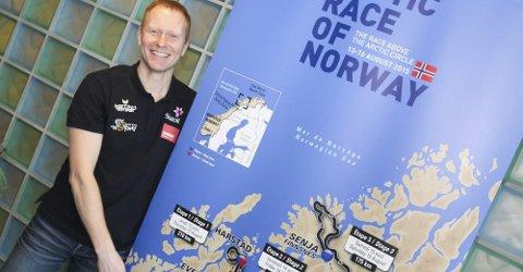 FÅR MILLIONER: Knut Eirik Dybdahl, Arctic Race-general.