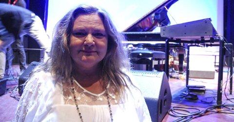 Jazzfan: Totningen Eva Stende var svært så fornøyd etter konserten med Chick Corea og hans band. foto: kenneth dahlby