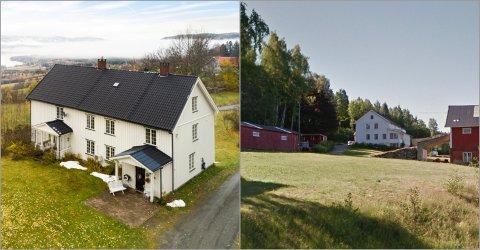 DYREST: Disse to gårdene ble solgt for henholdsvis 6,9 og 7 millioner, og ble med det de dyreste i Søndre Land i januar og februar.