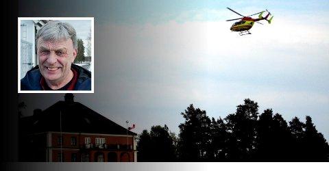SKADER ELVERUM: Arnfinn Uthus (Sp) mener det skader Elverums sak at fylkesvaraordføreren skaper usikkerhet om plasseringen av hovedsykehuset.