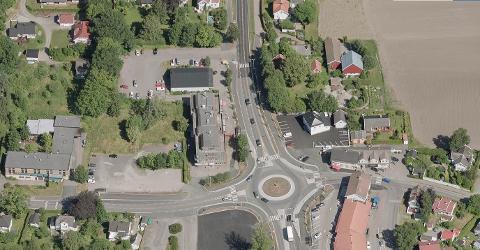 SER PÅ MULIGHETENE: Selv om de sendte en forespørsel til kommunen, forteller Eirik Sunde at det er helt uavklart enda om det blir en stor dagligvarebutikk på Borgheim.