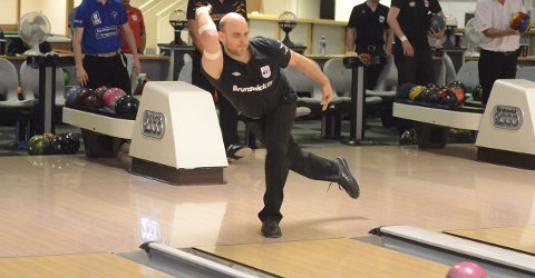 Glenn Morten Pedersen bidro til at Ringerike Bowlingklubb kunne sikre seg seier
