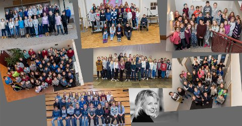 Denne gjengen har deltatt i årets skrivestafett!