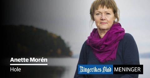 PRIORITERING: - Skal vi fortsette å prioritere dem som ikke lenger lever eller, dem som VIL leve, spør Anette Morén