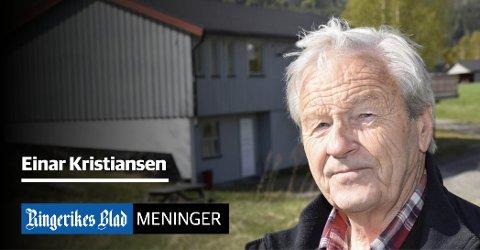 HELE KOMMUNEN: – En satsing på utvikling av hele kommunen er beste reklame for et levende framtidsrettet Ringerike, skriver Einar Kristiansen.