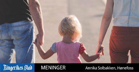 LÆRER: – Barn og unge ser og lærer av voksne mennesker og foreldre., skriver Annika Solbakken. (illustrasjonsfoto)