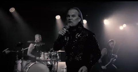"""VIDEOEN: Jørn Lande har sluppet den offisielle videoen til """"Faith Bloody Faith"""" som han skal fremføre i den første delfinalen i Melodi Grand Prix lørdag."""