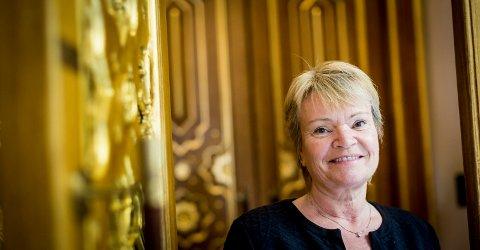 UTFORDRER: Kari Kjønaas Kjos. (54) fra Lørenskog. Foto: Lisbeth Lund Andresen