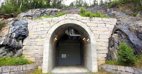 FYLLES OPP: Deponiet for radioaktivt avfall i Himdalen i Aurskog-Høland er allerede 60 prosent fylt opp.