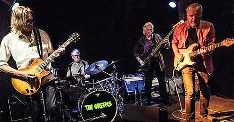 GREEN: Besetningen i The Green består av Freddy Dahl gitar/vokal, Kjell B Larsen gitar/vokal, Øivind Vilbo bass og Tore Wildhauer trommer.