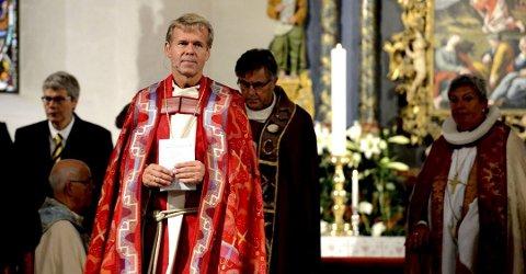 Kirkelig visitt: Biskop Per Arne Dahl besøker Sande onsdag 15. november.Foto: Kirvil Håberg Allum