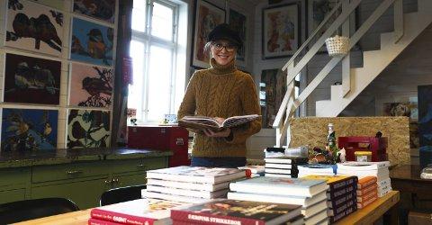 FØRJULSTRADISJON: Gunilla Holm Stoud Platou (bildet) gleder seg til å åpne verkstedet for folk helgen 16.-19. november.aRKIVFoto: Lena Malnes