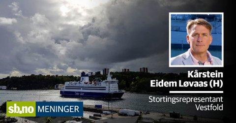 Flagger Color Line ut Kiel-fergene som følge av endringer av Norsk Internasjonalt Skipsregister, kan det få konsekvenser for ansatte om bord i Strömstadferjene.
