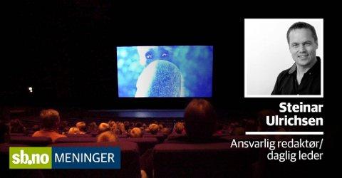 Det er kanskje på tide å vurdere en privat kinodrift i Sandefjord, skriver ansvarlig redaktør Steinar Ulrichsen.