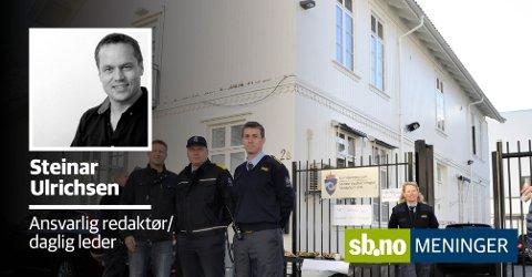 Protester til tross: Fengselet i Sandefjord legges ned.