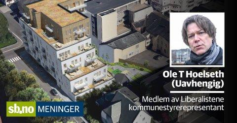 De private omsorgsboligene som er foreslått i Møllers gate.
