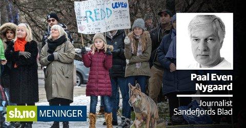 VET HVEM: Voksnes handlinger gjør barn redde, ikke dyrene.