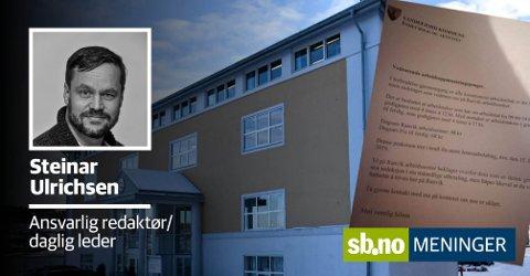 Arbeidstakerne på Ranvik arbeidssenter fikk et brev som skapte store reaksjoner. All ære til de som har engasjert seg, skriver ansvarlig redaktør og daglig leder, Steinar Ulrichsen.