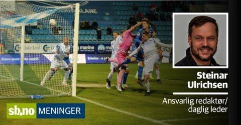 Notodden klarte ikke å stå imot presset fra Sandefjord Fotball og tapte 3–0 mot SF i helgen.