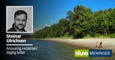 Er det mulighetene til å stikke seg  bort på en øde strand en varm sommer dag? Eller hva er det som gjør at du elsker Sandefjord?
