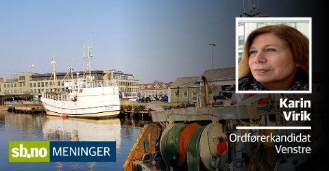 Knutepunkt: Området ved Carlsen-kvartalet utgjør en sentral brikke i byutviklingen, det er et viktig knutepunkt mellom byen og Kilenområdet, Skriver Karin Virik (V).