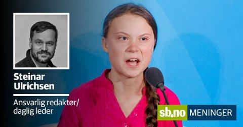 Den svenske 16-åringen vekker reaksjoner over hele verden etter talen i FNs generalforsamling.