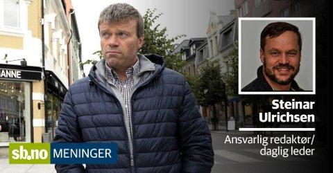 Gårdeier Per-Erik Stickler Holm er i dialog med butikkdrivere som leier hos dem. Til leietagere som sliter på grunn av koronakrisen, gir han et klekkelig prisavslag.