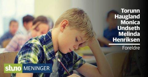 PSYKISK HELSE: «Vi spør oss om kartleggingen og resultatstyringens negative innvirkning på motivasjon og stressnivå,» skriver foreldre i denne kommentaren. Illustrasjonsfoto: Mostphotos