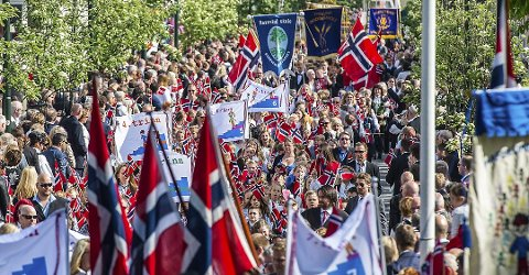 Dette er programmet for årets 17. mai-feiring i Sarpsborg.