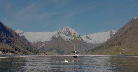 NY VRI: Esefjordbrua engasjerer. No vert dette forslaget kasta inn i debatten.