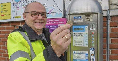 Følger opp politiske vedtak: Anton Thomassen i Tvedestrand Kommune påpeker at de bare følger opp de parkeringsbestemmelsene som er vedtatt.