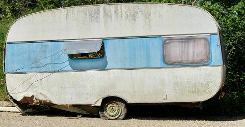 VRAKPANT: Det er 3.000 kroner å tjene på å levere inn den gamle campingvogna. Mange har allerede benyttet seg av ordningen.