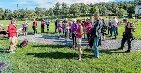 Friluftslivets uke på Breivoll: Ås Turlag inviterer til friluftshelg på Breivoll. Her fra åpningen av Kyststien, fra  Nesset/Breivoll til Sjødalstrand i Oppegård i september 2016.