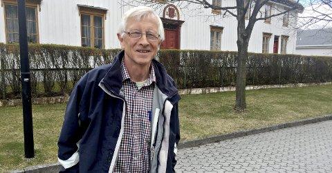 Nils Ulvund: Utålmodig mållagsleiar som inviterer til seminar.Arkiv