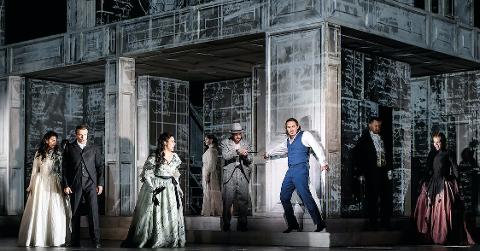 SCENE: Fra storscene i London blir  Don Giovanni formidlet direkte til kinosalen i Flekkefjord.