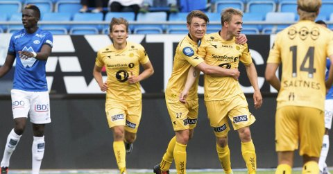Til Molde: Glimt-spillerne møter Molde på bortebane  før La Manga-oppholdet i februar.Foto: Svein Ove Ekornesvåg / NTB scanpix