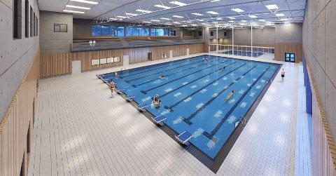 Slik ser den planlagte svømmehallen på Lagård ut. Det er Egerconsult som står bak tegningene.