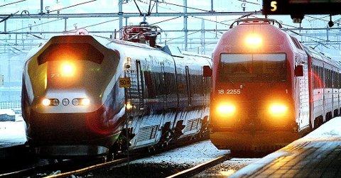 Plan: Etter planen skal dobbeltsporet stå ferdig i Fredrikstad i 2024, i Sarpsborg i 2026 og i Halden i 2030.