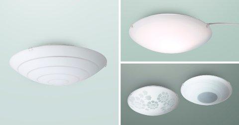 Har du en av disse lampene hjemme, oppfordres du til å levere den tilbake til nærmeste Ikea-varehus.
