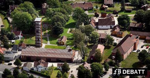 Borgarsyssel museum ligger i dag på tomten rett utenfor der det gamle Sarpsborg lå. Nicholas Christiansen spør om museet kan bli et stort vikingsenter for hele fylket.