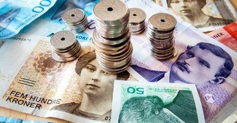 MYNT: Ut fra tallene å dømme, lå det mer mynt enn sedler i bøssene i årets TV-aksjon.
